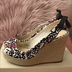 Coach Shoes - COACH wedge peep toe sandal